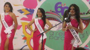 30 señoritas buscan ser coronadas reina del carnaval de San Miguel
