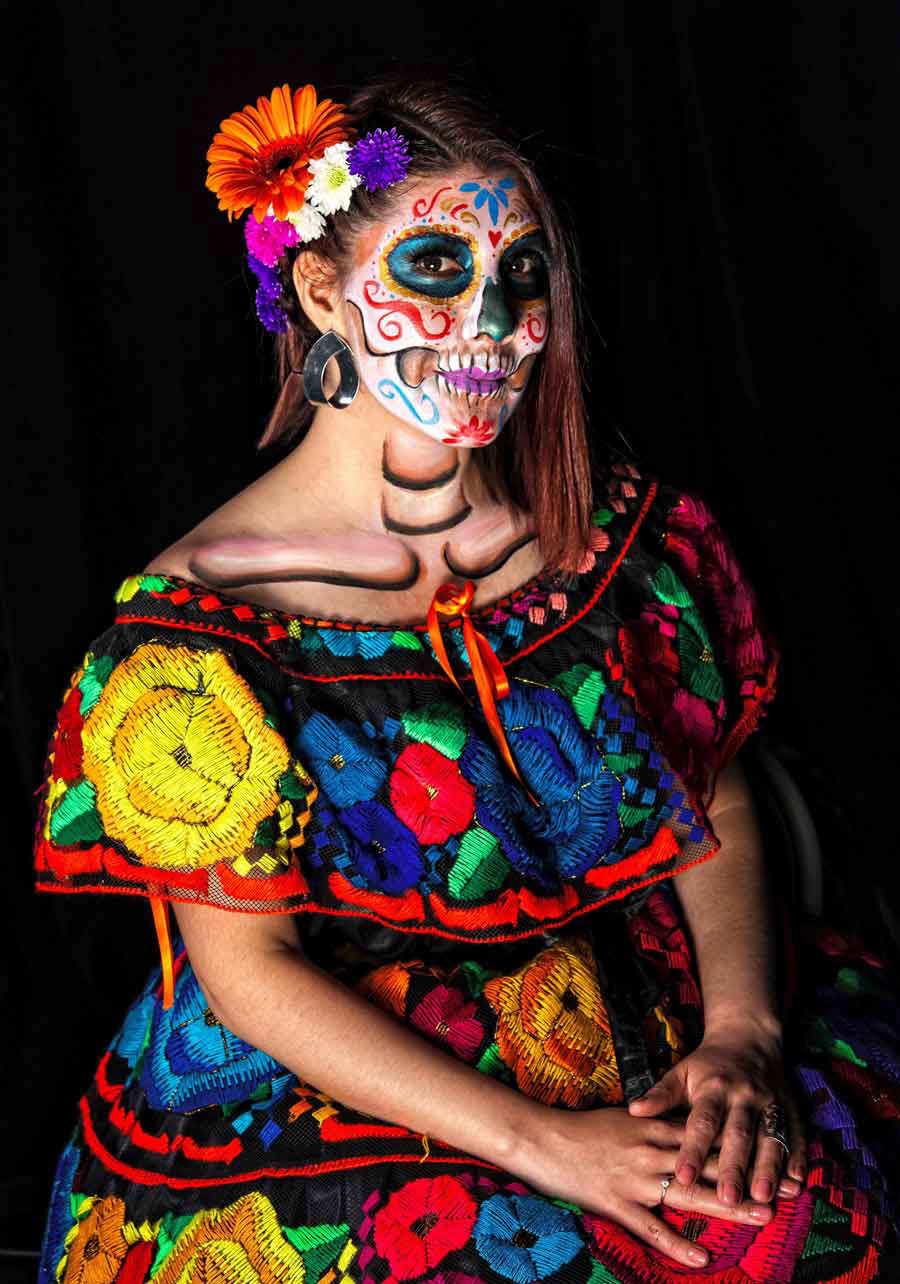 El Colorido Y La Creatividad En Las Catrinas Mexicanas Elsalvadorcom