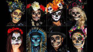 El colorido y la creatividad en las catrinas mexicanas