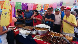 Deliciosos platillos de cerdo en San Rafael Obrajuelo