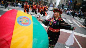 Así se vivió el Desfile de la Hispanidad en New York