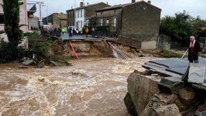 Muertos y destrucción a causa de la tormenta Leslie en Francia