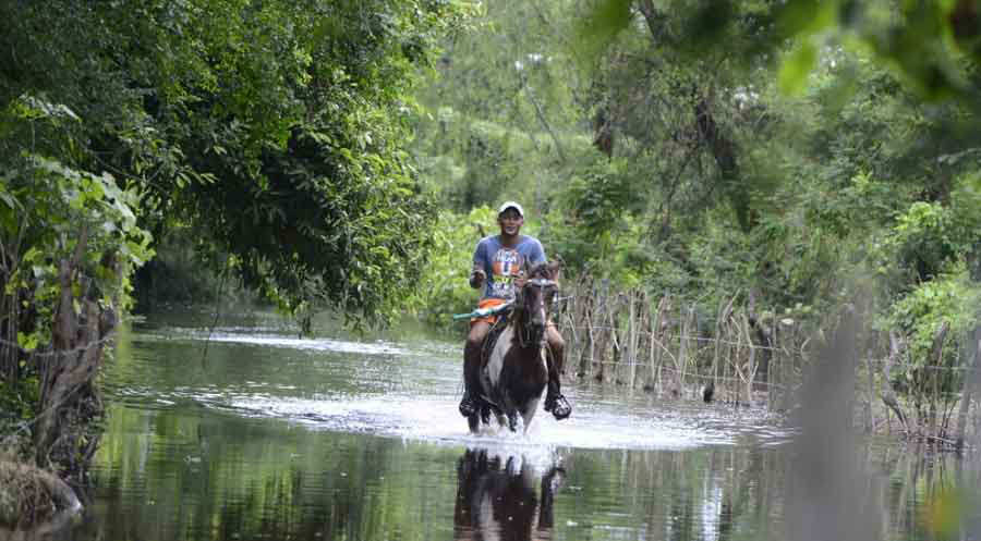 Inundación río Grande