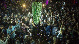 Curiosas imágenes deja legalización de la marihuana en Canadá