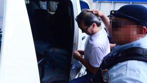 Exfiscal Luis Martínez fue enviado a la cárcel a esperar que continúe el proceso judicial