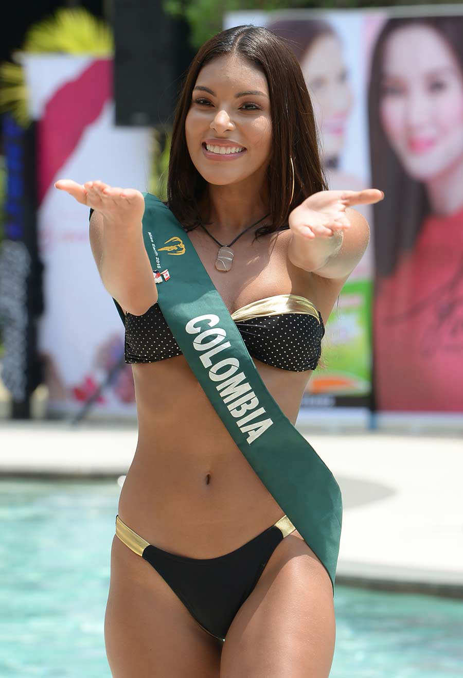 CORRECTION - Candidate to the Miss Earth beauty pageant