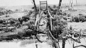 El puente de Oro fue dinamitado por el FMLN hace 37 años