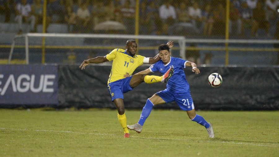 Liga de Naciones CONCACAF 2018-19: El Salvador 3 Barbados 0. SELECTA-BARBADOS-03