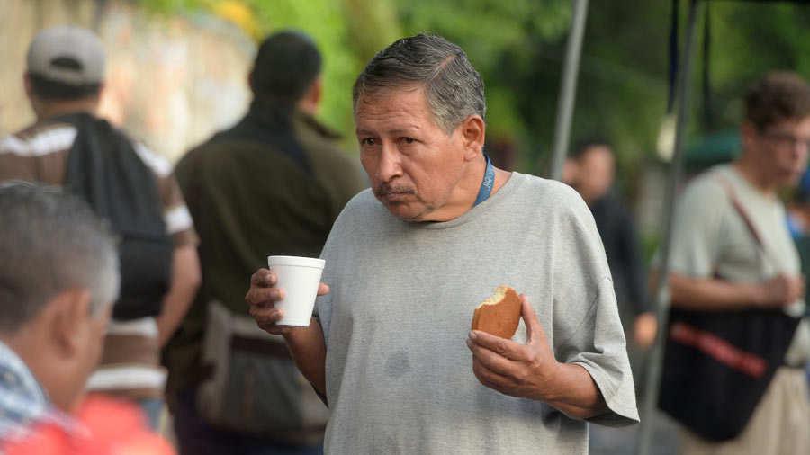 Salvadoreños trabajadores