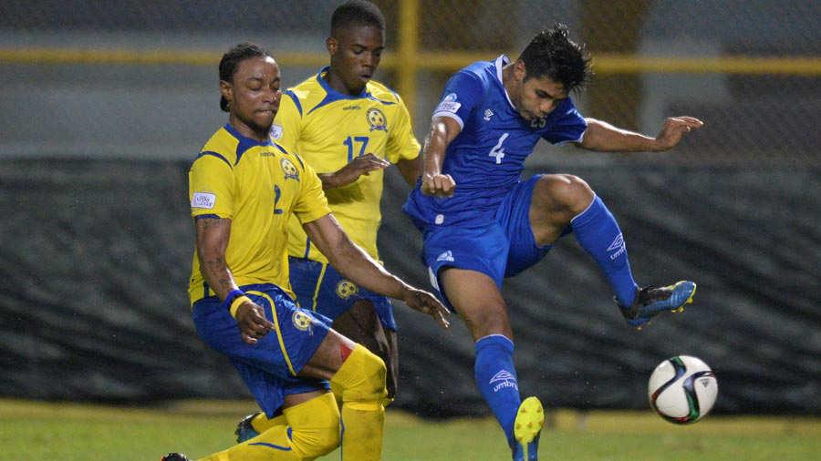 Liga de Naciones CONCACAF 2018-19: El Salvador 3 Barbados 0. Selecta15
