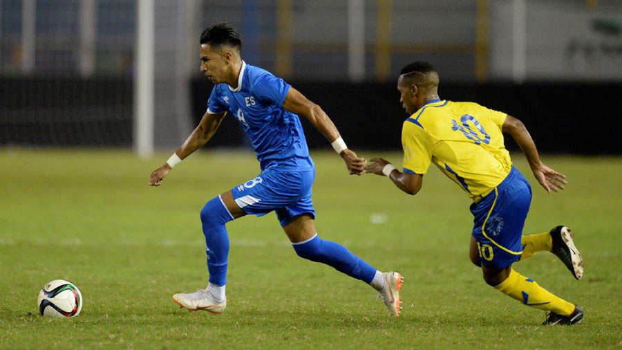 Liga de Naciones CONCACAF 2018-19: El Salvador 3 Barbados 0. Selecta181