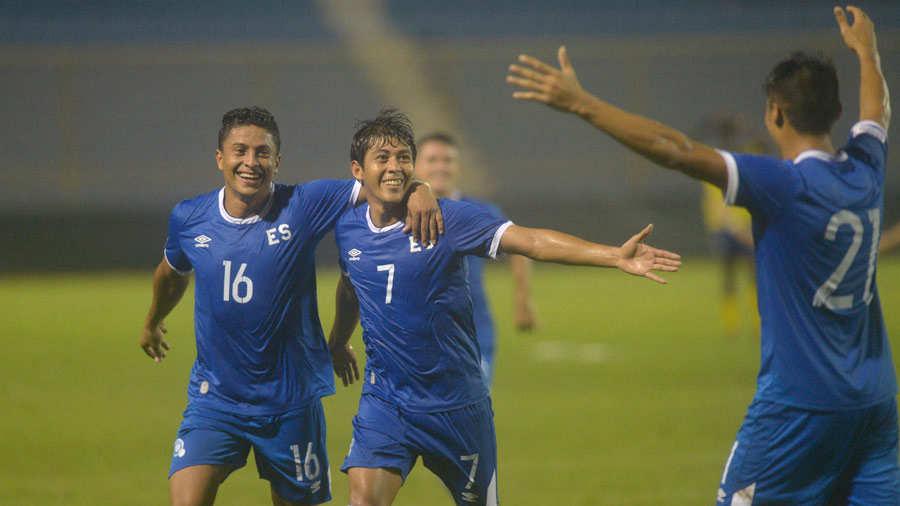 Liga de Naciones CONCACAF 2018-19: El Salvador 3 Barbados 0. Selecta4