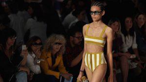 Colores, texturas y belleza en la Semana de la Moda de Sao Paulo