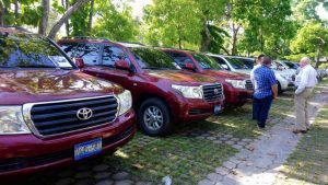 Asamblea Legislativa subasta camionetas de directivos y recauda más de 313 mil dólares