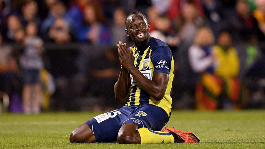 Usain Bolt se queda sin equipo de futbol