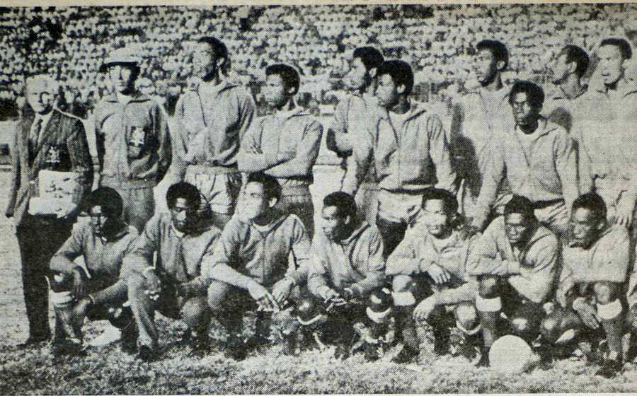 Liga de Naciones CONCACAF y Eliminatorias a Copa Oro 2019 [13 de octubre del 2018 - Barbados] Barbados1971florblanca