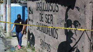 Joven recepcionista es acribillado por pandilleros en calle antigua a Tonacatepeque