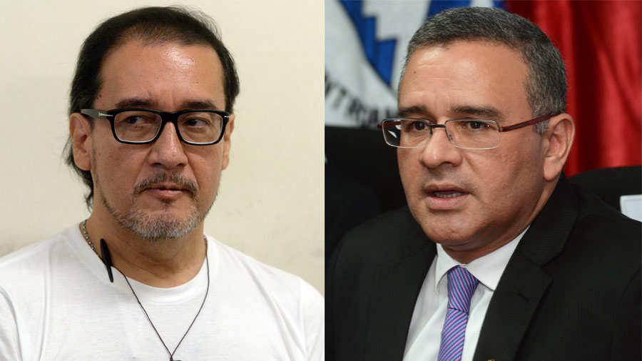 Ordenan detención de exfiscal general de El Salvador Luis Martínez