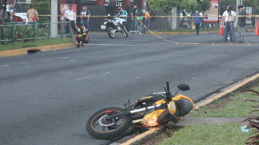 MUERE AN ACCIDENTE DE MOTO