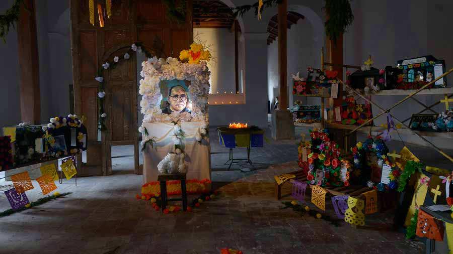 Altares de muerto Suchitoto