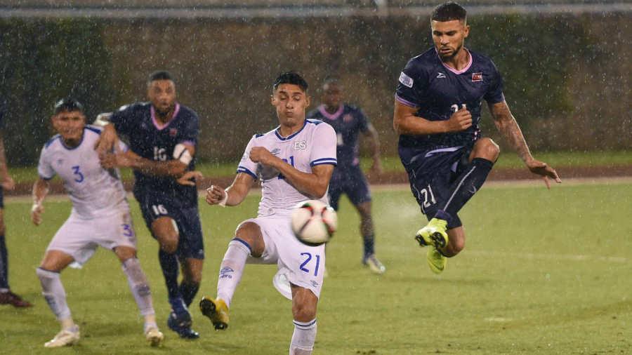 Liga de Naciones CONCACAF 2018-19: El Salvador 0 Bermudas 1. Bermuda-El-Salvador-Royal-Gazzette-03