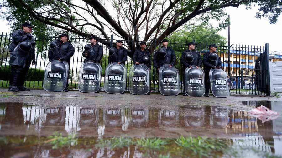 Fuerte tormenta en Buenos Aires genera incertidumbre hacia el Boca-River