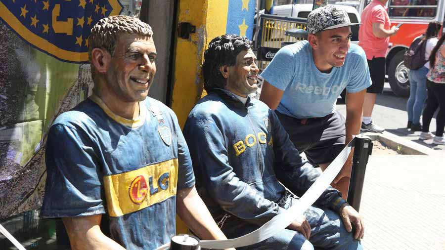 Buenos Aires se prepara para la final de la Copa Libertadores entre Boca y River