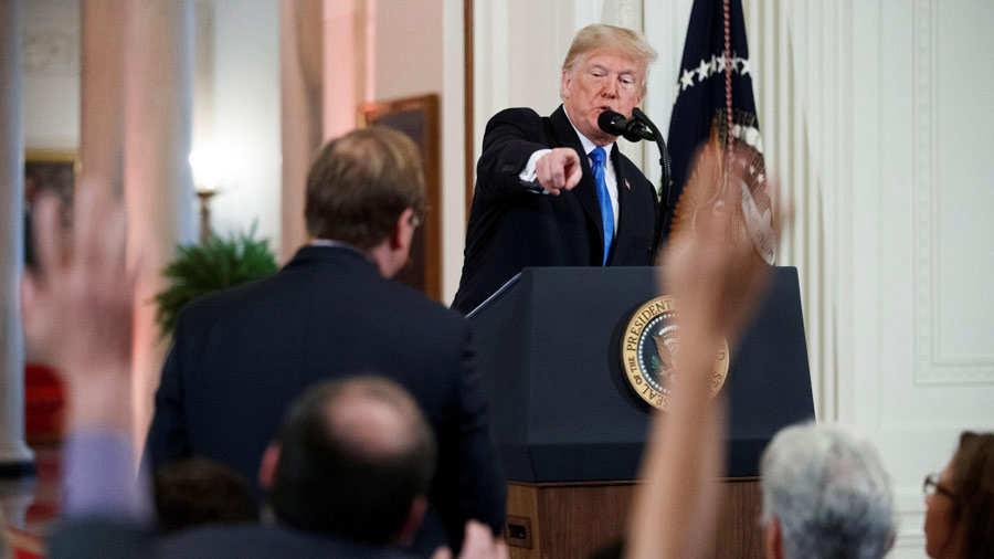 Trump presume de resultado