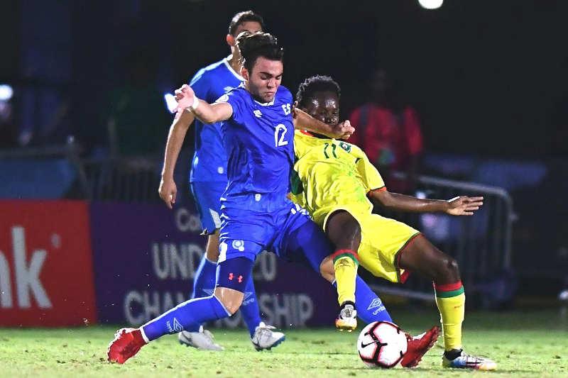 Campeonato Sub-20 de Concacaf 2018. [Copa Mundo Polonia 2019] EL-SALVADOR-GUYANA-EDH-DEPORTES-02