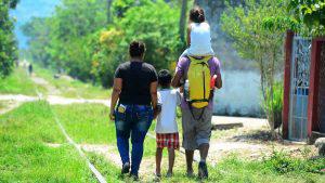 El Calvario del migrante: el agotador camino en la zona sur de Chiapas