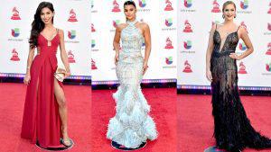 Las mejor vestidas de los Grammy Latinos 2018