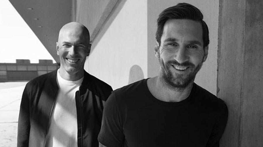 ¿Zidane y Messi juntos? Una misteriosa foto recorre Instagram