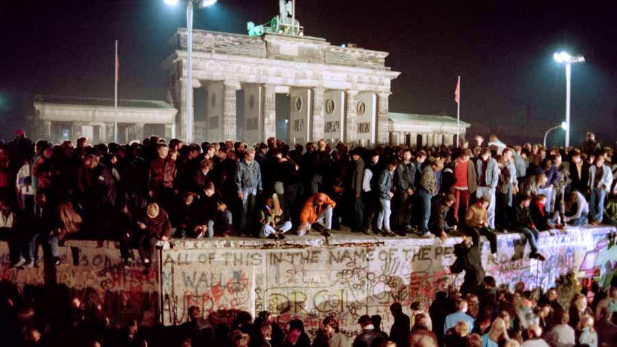 GERMANY-BERLIN WALL-COMMUNISM