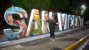 El legado de Nory Flores a su tierra natal San Vicente