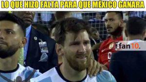 Los divertidos memes tras la derrota de México ante Argentina