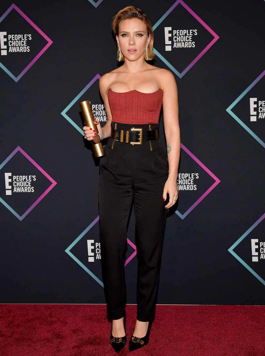 La mejor vestidas en los People's Choice Awards 2018 ...