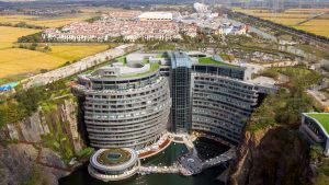 Impresionante y futurista, el primer hotel subterráneo en el mundo