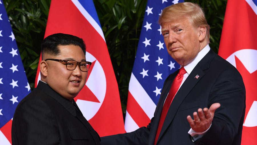 Singapur Trump Kin