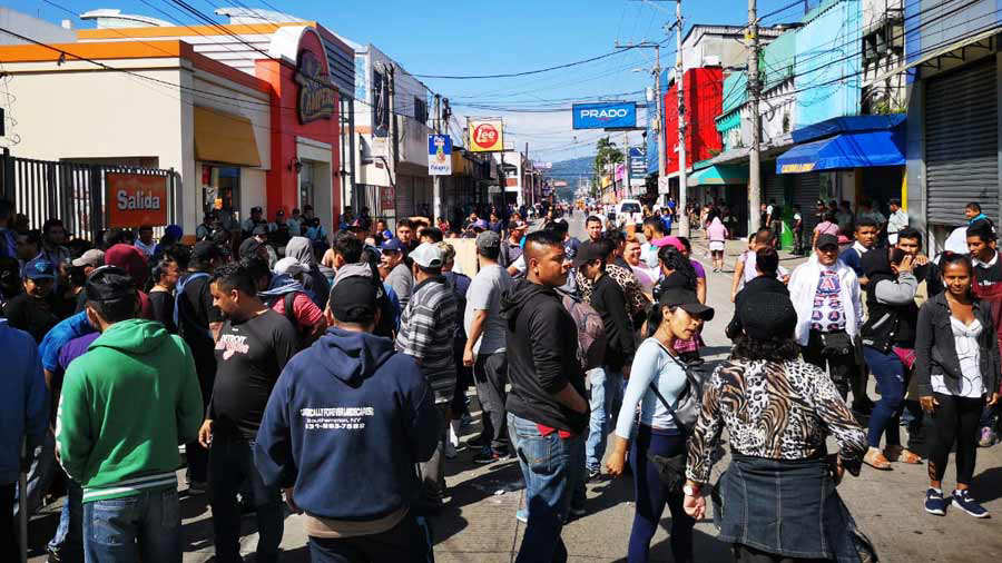 Vendedores Santa Tecla