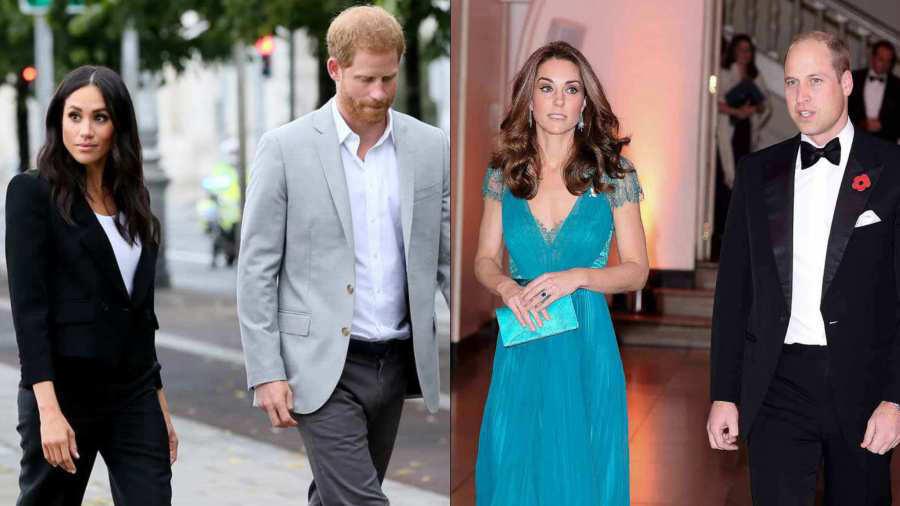 8ea541dd82 Crisis en la familia real  Meghan y Harry se mudan lejos de los ...