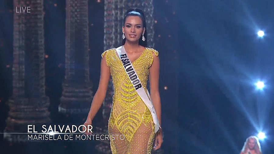 63f610990 Así fue la participación de Miss El Salvador en la competencia preliminar  de Miss Universo
