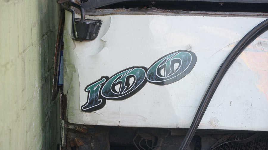 Accidente ruta 100 bulevar Venezuela
