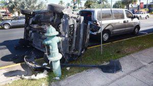 Impactante accidente causado por mujer que conducía en estado de ebriedad