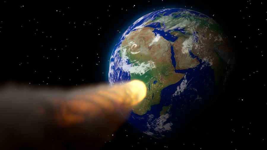 Internacionales: Hallaron restos de agua en la superficie de un asteroide