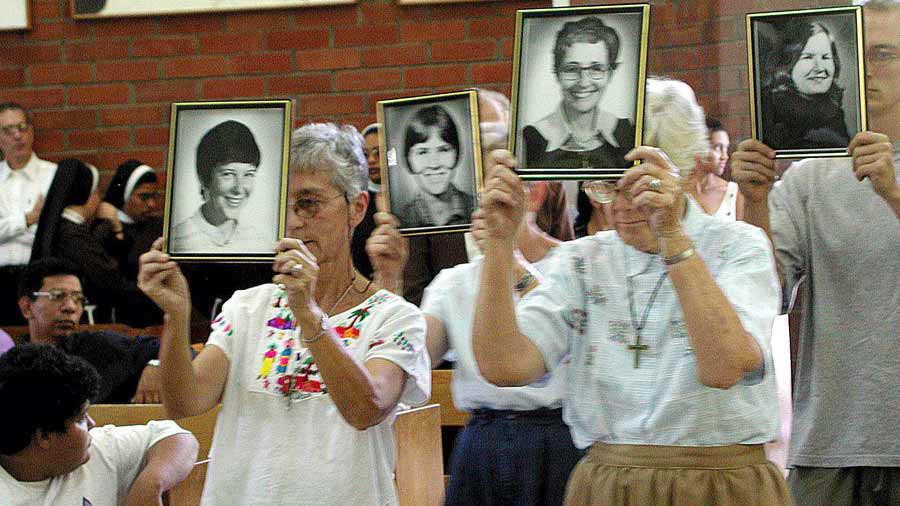 EL SALVADOR-EEUU-MONJAS-ASESINADAS