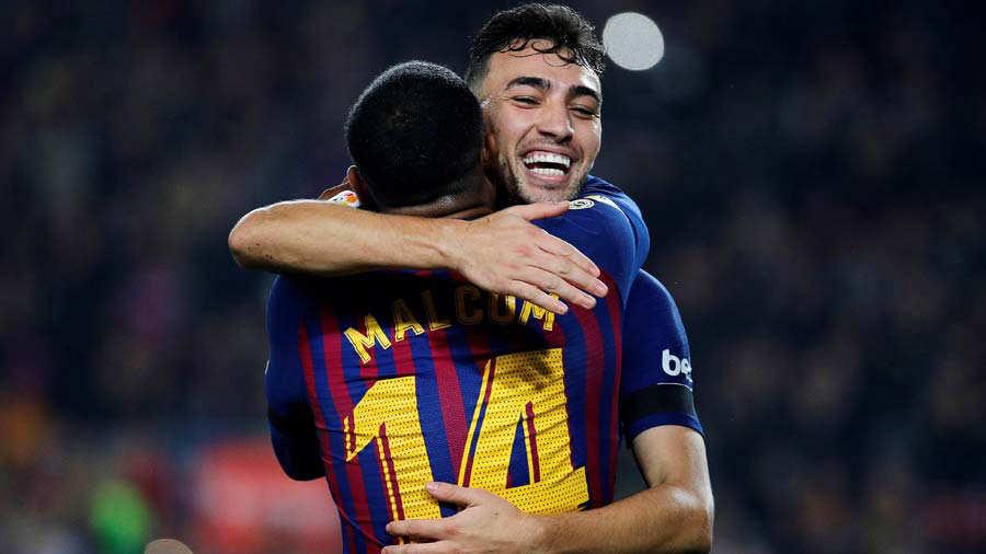 Munir el Haddadi no jugará más con Barça si no renueva
