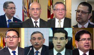 Uno de ellos será el próximo fiscal general de la República
