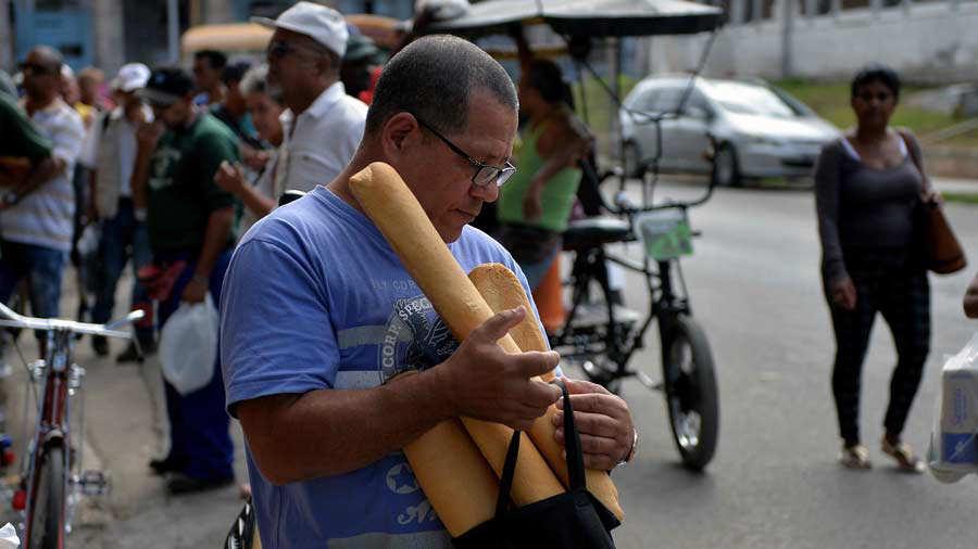 Desabastecimiento pan Cuba