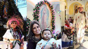 Salvadoreños cuentan los milagros que la Virgen de Guadalupe les concedió