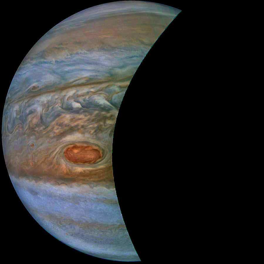 VÍDEO Sobrevuela Júpiter con la misión Juno de la NASA